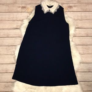 Nanette LePore A-Line Dress with Peter Pan Collar